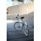 WACHSEN(ヴァクセン) 折り畳み自転車 Wolke(ヴォルケ) 26インチ 6段変速 サスペンション ホワイト(シティサイクル)BC-S626 - 縮小画像5