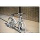 WACHSEN(ヴァクセン) 折り畳み自転車 Wolke(ヴォルケ) 26インチ 6段変速 サスペンション ホワイト(シティサイクル)BC-S626 - 縮小画像6