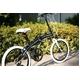 WACHSEN(ヴァクセン) 20インチアルミ 折り畳み自転車 Schwarz(シュヴァルツ) 6段変速付 BA-102 写真5