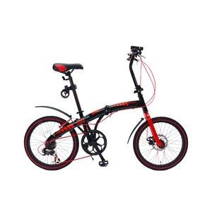 【送料無料】 WACHSEN(ヴァクセン)20インチアルミ折りたたみ自転車7段変速付 EXTREM(エクストレム)