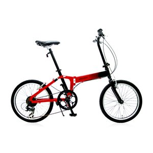 【送料無料】 WACHSEN(ヴァクセン)20インチアルミモノフレーム折りたたみ自転車7段変速付 Neu(ノイ)