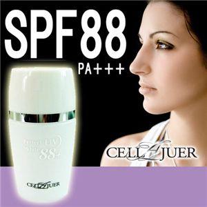 人工皮膚成分配合の化粧下地「セルラージュ 88UVホワイト」