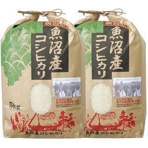 魚沼産コシヒカリ10kg(5kgx2)