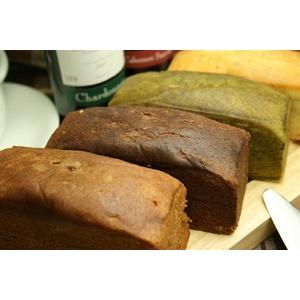 豆乳おからパウンドケーキ 4種セット (プレーン/抹茶/ビターチョコ/ミルクチョコ) - 拡大画像