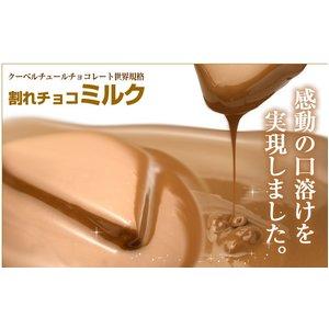 割れチョコ ミルク 800g 【クーベルチュールチョコレート】 - 拡大画像