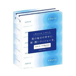 エリエール +Water プラスウォーター 180W 5箱パック 【10セット】