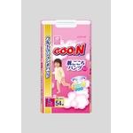 Goo.n(グーン) おむつ すっきり決まるパンツ Lサイズ 54枚 女の子 【3セット】