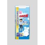 Goo.n(グーン) おむつ すっきり決まるパンツ BIGより大きいサイズ 36枚 男の子 【3セット】