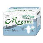 Megami ウルトラスリム (特に多い日の昼用) 羽つき 19枚 【24セット】【送料無料】