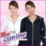 8位K-1 EX リアルサウナスーツ スリムライン ネイビー Mサイズ