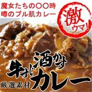 牛すじ酒かすカレー 【8個セット】