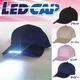 LED CAP スタンダードタイプ ネイビー 【LEDライト付き帽子】