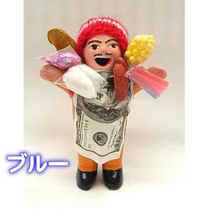 エケッコー(エケコ)人形 15cm ブルー - 拡大画像