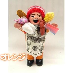 エケッコー(エケコ)人形 15cm オレンジ - 拡大画像