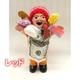 エケッコー(エケコ)人形 15cm レッド - 縮小画像1