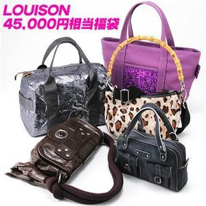 4万5000円相当!LOUISON(ルイゾン)バッグ☆フランス製☆セレブ福袋  M100000L4 - 拡大画像