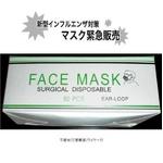 インフルエンザ防御セット(マスク50枚・抗菌ティッシュ10個)