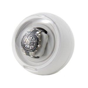 カラフルワインダー 1本用 時計巻上げ機 ホワイト - 拡大画像
