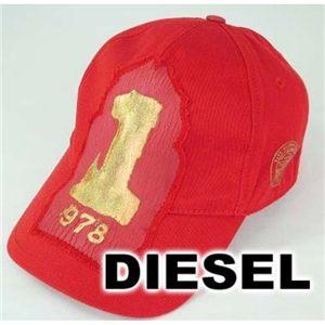 DIESEL(ディーゼル) キャップ 2010ニューモデル 00CFIQ/レッド