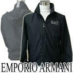 EMPORIO ARMANI(エンポリオアルマーニ) ウインドブレーカー  ブラックM【送料無料】