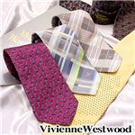 VivienneWestwood(ヴィヴィアンウエストウッド) ネクタイ 2011新作 パープルオーヴ