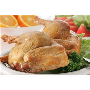 本宮烏骨鶏エゴマ鶏燻製半身 - 拡大画像