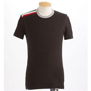 Dolce&Gabbana(ドルチェ&ガッバーナ) メンズTシャツ M10513 ブラック XSサイズ