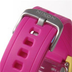 NIXON(ニクソン) LODOWN ユニセックスウォッチ 498-389/イエロー×ピンク・レディース 市場