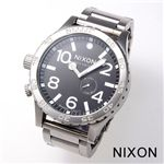 NIXON(ニクソン)【51-30】 メンズウォッチ A057-000/ブラック