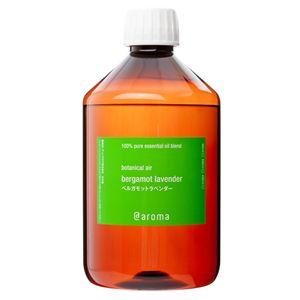 アットアロマ 100%ピュアエッセンシャルオイル botanical air ベルガモットラベンダー 450ml