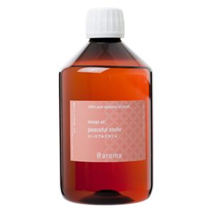アットアロマ 100%pure essential oil <design air ピースフルスマイル(450ml)>