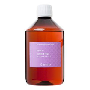 アットアロマ 100%pure essential oil <design air コンフォートリラックス(450ml)>