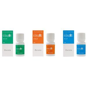 アットアロマ 100%pure essential oil <KIOKU plus セット(10ml×3本)> - 拡大画像