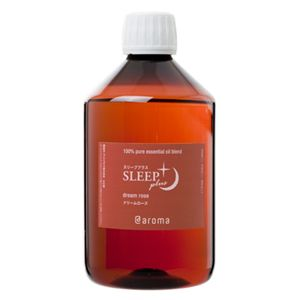 アットアロマ 100%pure essential oil <SLEEP plus ドリームローズ(450ml)>