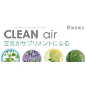 アットアロマ 100%ピュアエッセンシャルオイル CLEAN air ミント 450ml