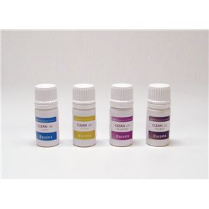 アットアロマ 100%pure essential oil <CLEAN air セット(5ml×4本)>