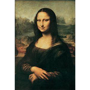 世界の名画シリーズ、最高級プリハード複製画 レオナルド・ダ・ヴィンチ作 「モナ・リザ」