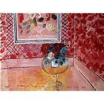 世界の名画シリーズ、プリハード複製画 ラウル・デュフィ作 「30歳、またはばら色の人生」