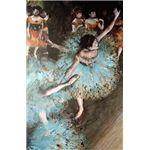 世界の名画シリーズ、プリハード複製画 エドガー・ドガ作 「バランスをとる踊り子」