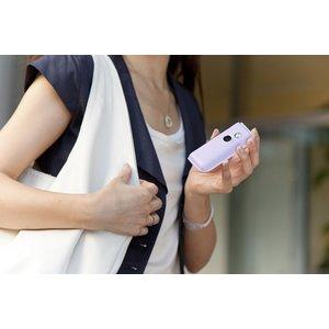 携帯用アロマディフューザー<@aroma mobile diffuser funfan(ファンファン) ブラック>【USBケーブル、充電池付】