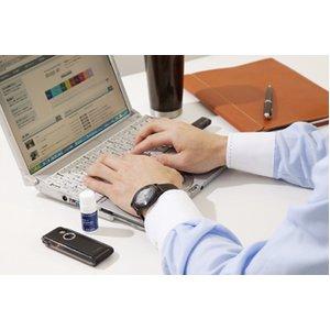 携帯用アロマディフューザー<@aroma mobile diffuser funfan(ファンファン) ライムグリーン>【USBケーブル、充電池付】
