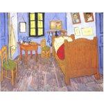 世界の名画シリーズ、最高級プリハード複製画 ヴィンセント・ヴァン・ゴッホ作 「ゴッホの部屋」