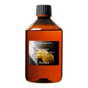 アットアロマ 100%ピュアエッセンシャルオイル botanical air japan 和柑橘/柚子 450ml - 拡大画像