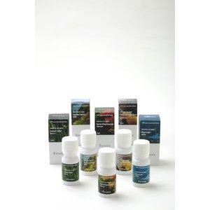 アットアロマ 100%ピュアエッセンシャルオイル botanical air japan 5本セット 10ml、各5本