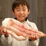 【特大】王様タラバガニ(ボイル 脚)1kg