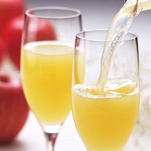 【葉とらずりんごのりんごジュース】林檎園:ストレート果汁100% 1000ml×6本