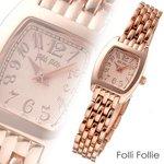 フォリフォリ 腕時計 ピンクゴールド WF5R143BPP