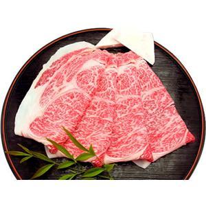 松阪牛ロースすき焼き 1kg - 拡大画像