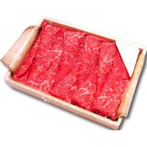 松阪牛すき焼きギフト(木箱入り) 600g - 拡大画像