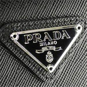 プラダ M176A SAFFIANO 3ツオリ BK